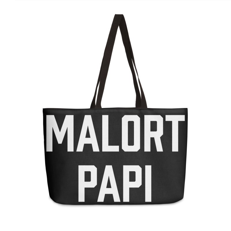 Malort Papi (white font) Accessories Bag by murdamex's Artist Shop