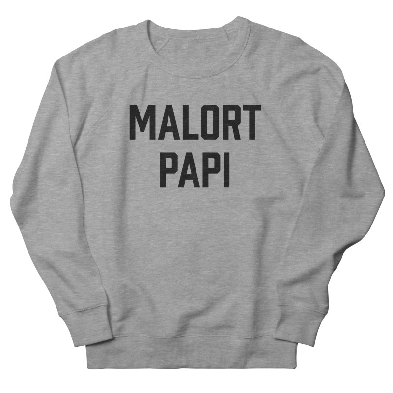 Malort Papi (black font) Men's Sweatshirt by murdamex's Artist Shop