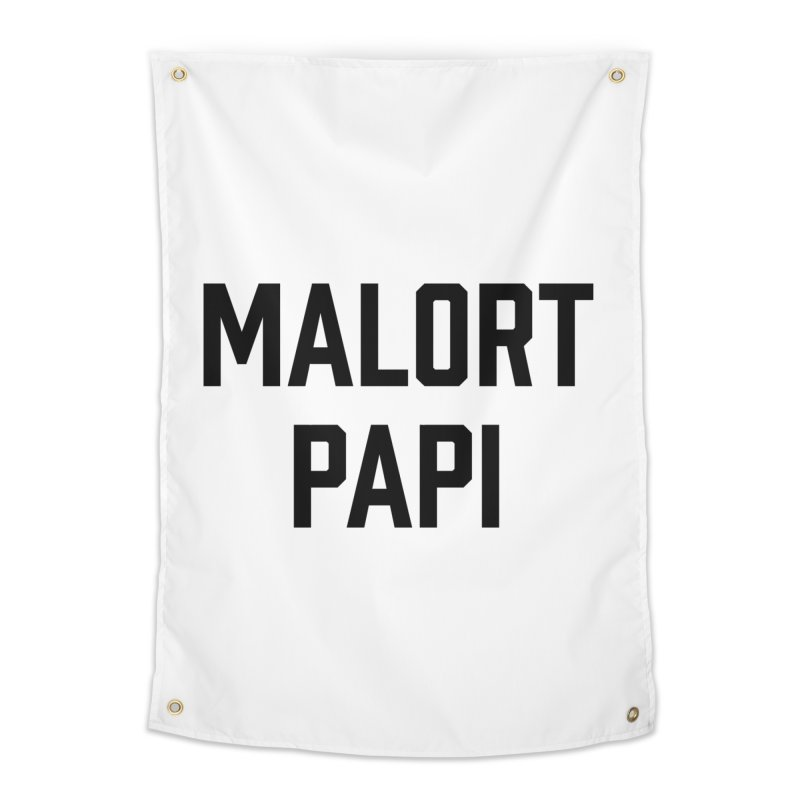 Malort Papi (black font) Home Tapestry by murdamex's Artist Shop