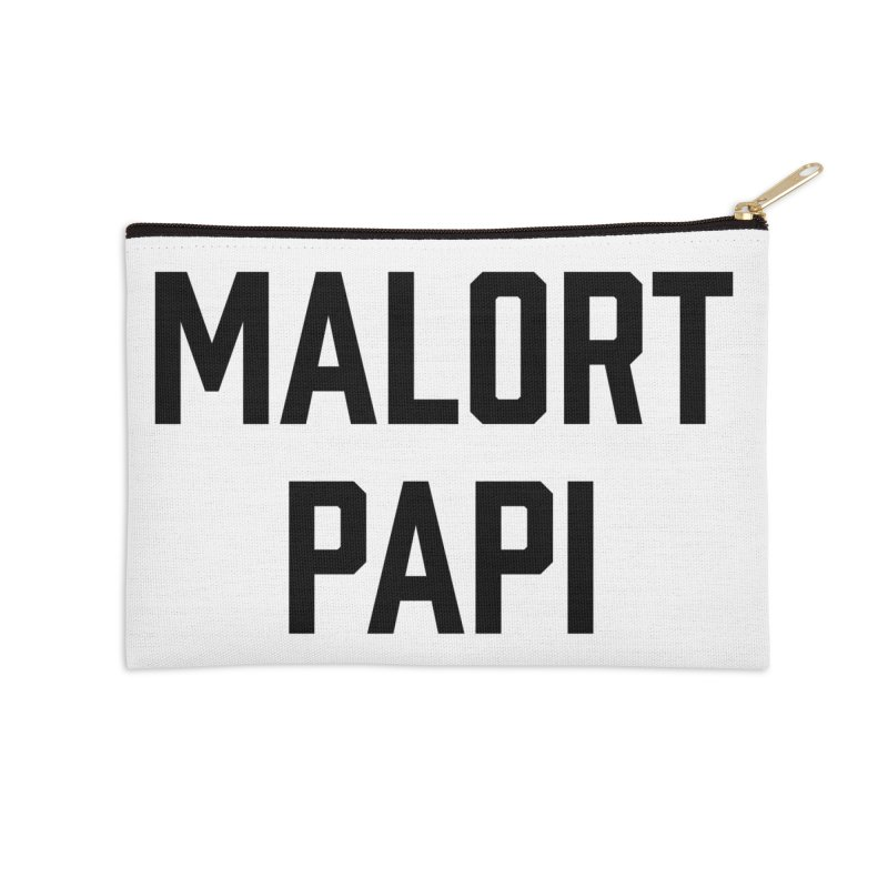 Malort Papi (black font) Accessories Zip Pouch by murdamex's Artist Shop