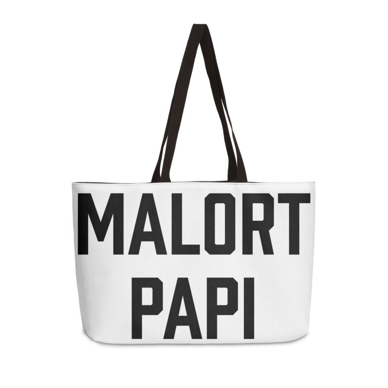 Malort Papi (black font) Accessories Bag by murdamex's Artist Shop