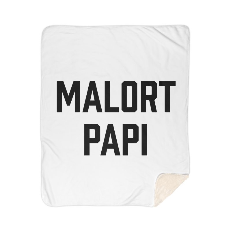 Malort Papi (black font) Home Blanket by murdamex's Artist Shop