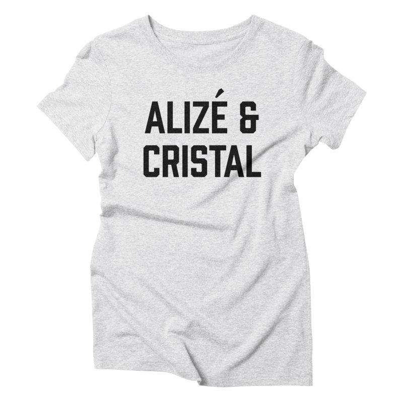 Thug Passion (black font)  Women's Triblend T-Shirt by murdamex's Artist Shop