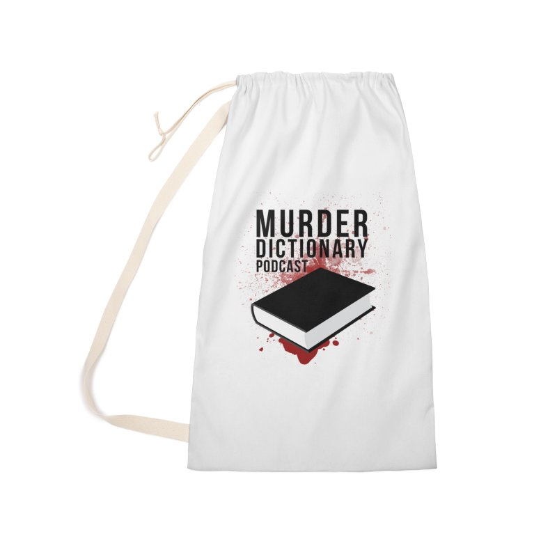 Murder Dictionary Podcast Logo Accessories Bag by Murder Dictionary's Artist Shop