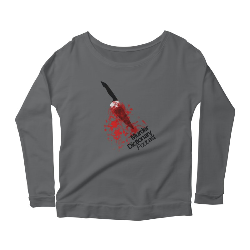 Murder Dictionary Knife Women's Longsleeve T-Shirt by Murder Dictionary's Artist Shop