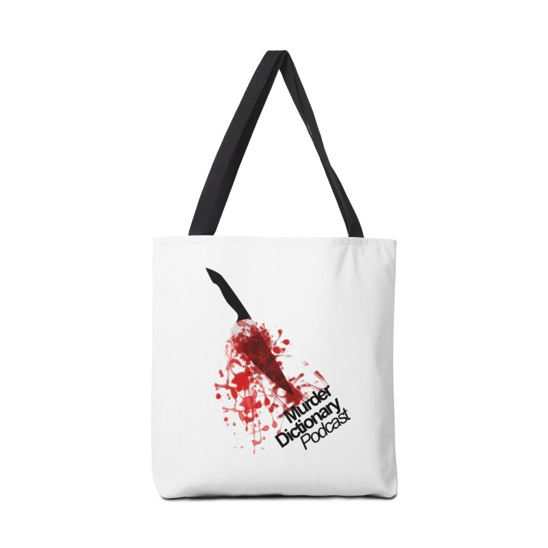 Murder Dictionary Knife Accessories Bag by Murder Dictionary's Artist Shop