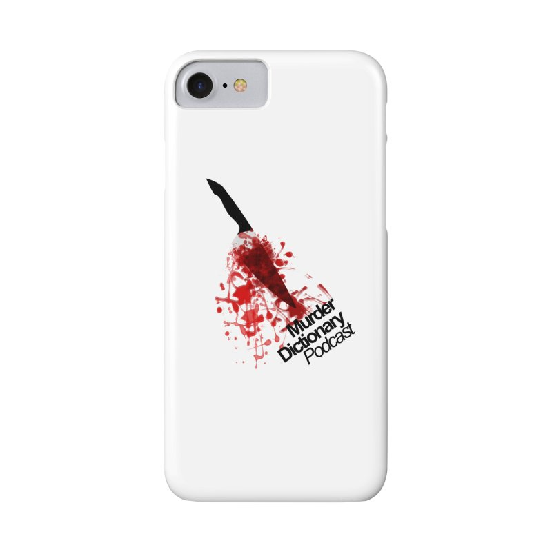 Murder Dictionary Knife Accessories Phone Case by Murder Dictionary's Artist Shop
