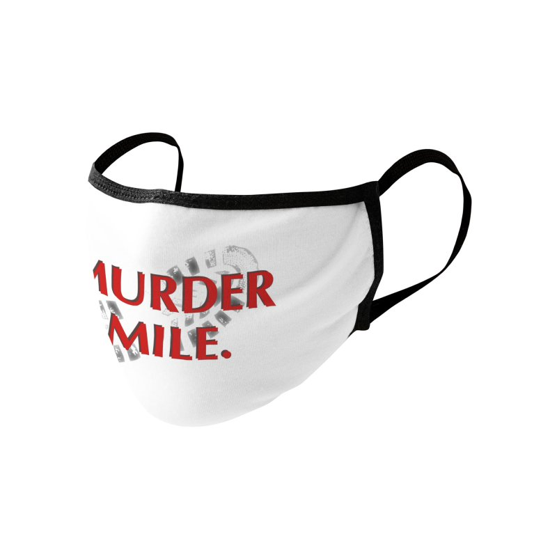 Murder Mile (original) Accessories Face Mask by Murder Mile True-Crime Podcast - Merchandise