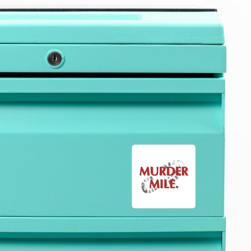 Murder Mile (original) Accessories Magnet by Murder Mile True-Crime Podcast - Merchandise