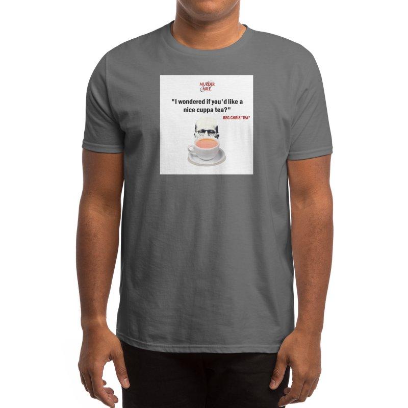 "Reg Chris""tea"" Men's T-Shirt by Murder Mile True-Crime Podcast - Merchandise"