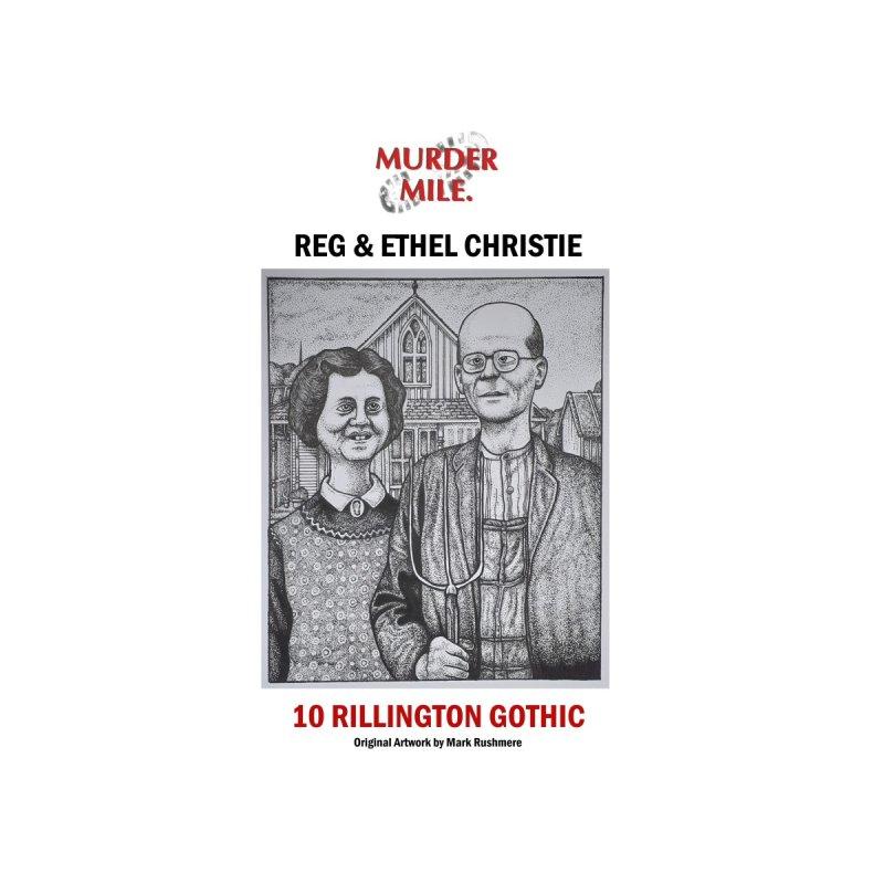Rillington Gothic Men's T-Shirt by Murder Mile True-Crime Podcast - Merchandise