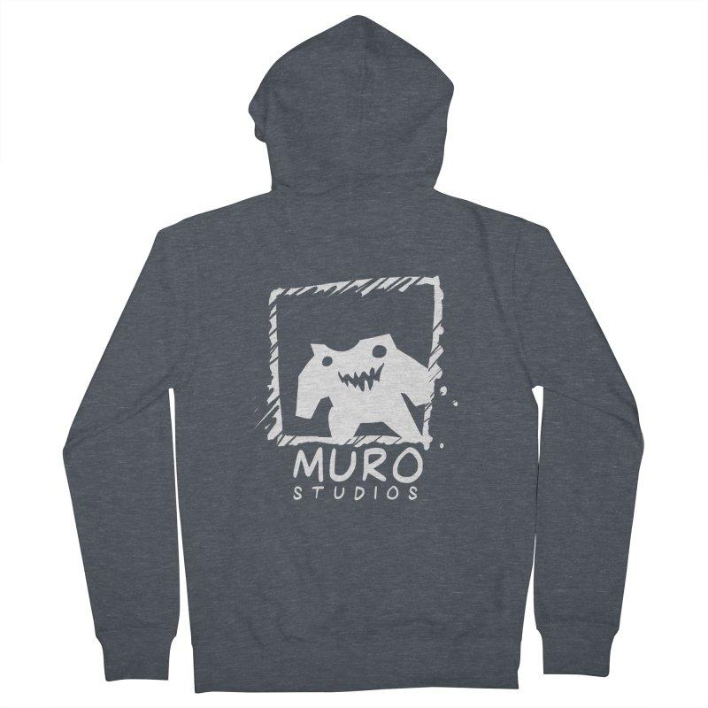Muro Studios Logo Men's Zip-Up Hoody by Muro Studios Shop