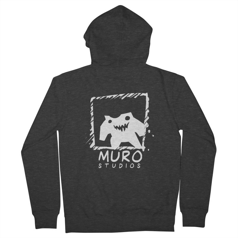 Muro Studios Logo Men's French Terry Zip-Up Hoody by Muro Studios Shop