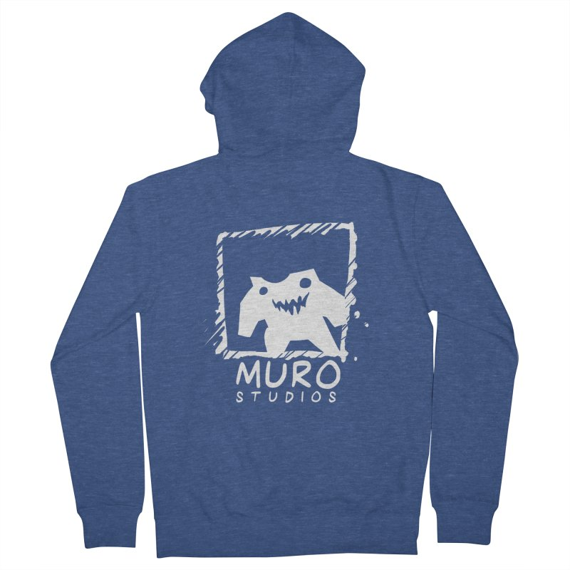 Muro Studios Logo Men's Zip-Up Hoody by Muro Studios Shop