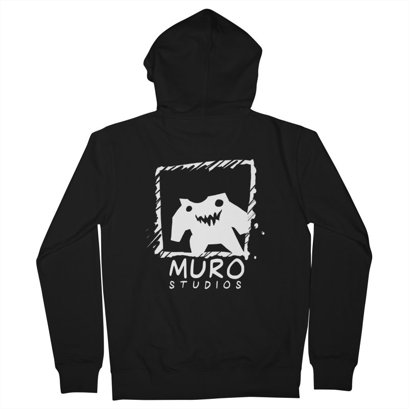 Muro Studios Logo Men's French Terry Zip-Up Hoody by Muro Studios Shop