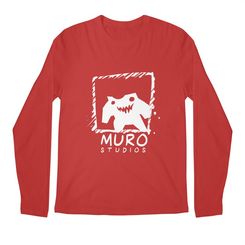 Muro Studios Logo Men's Regular Longsleeve T-Shirt by Muro Studios Shop