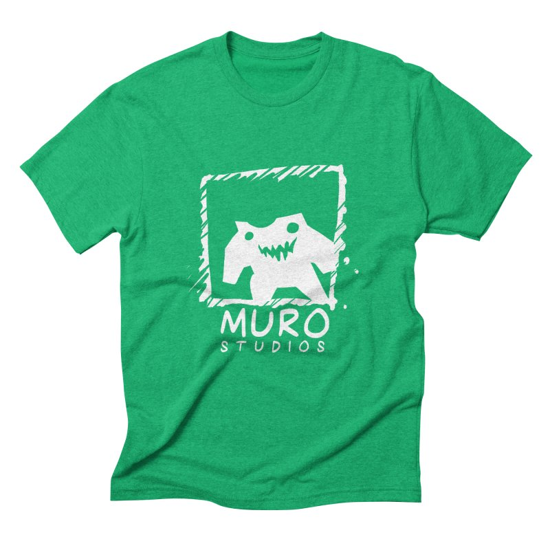 Muro Studios Logo Men's Triblend T-Shirt by Muro Studios Shop