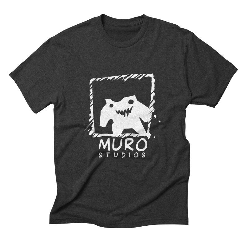 Muro Studios Logo Men's Triblend T-Shirt by Muro Studios Shop
