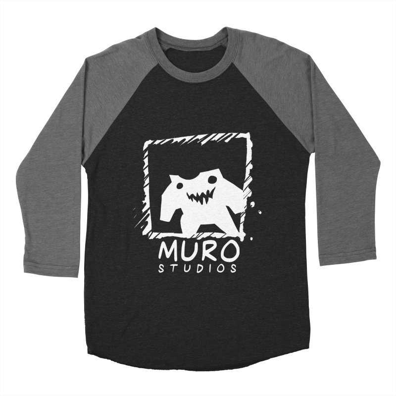 Muro Studios Logo Men's Baseball Triblend T-Shirt by Muro Studios Shop