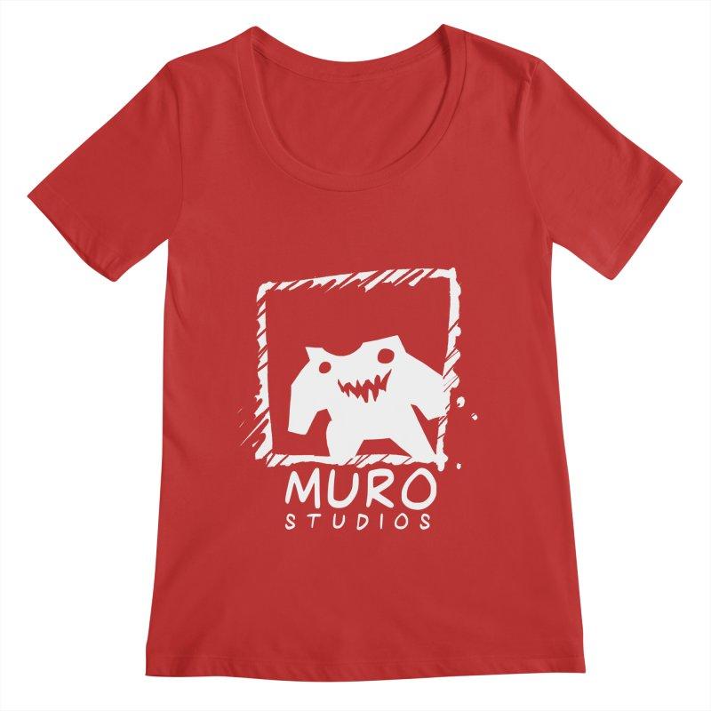 Muro Studios Logo Women's Regular Scoop Neck by Muro Studios Shop