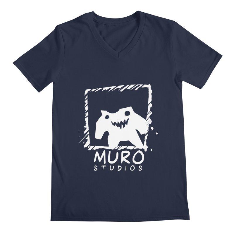Muro Studios Logo Men's Regular V-Neck by Muro Studios Shop