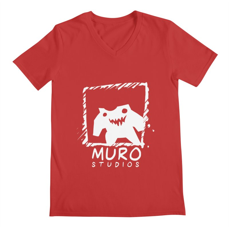 Muro Studios Logo Men's V-Neck by Muro Studios Shop