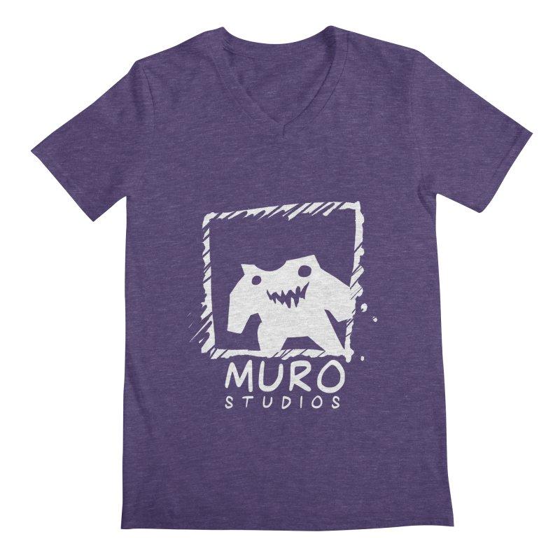 Muro Studios Logo Men's V-Neck by Muro Studios Shop