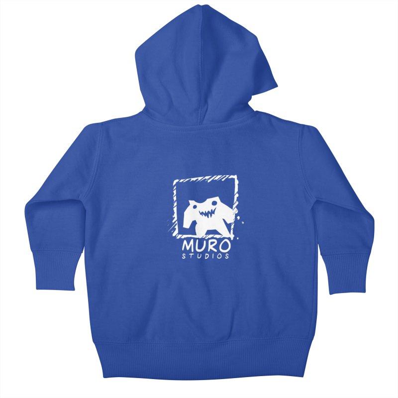Muro Studios Logo Kids Baby Zip-Up Hoody by Muro Studios Shop