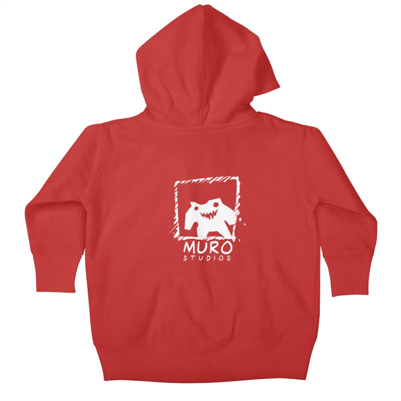 Muro Studios Logo Kids Baby Zip-Up Hoody by Muro Studios Shop