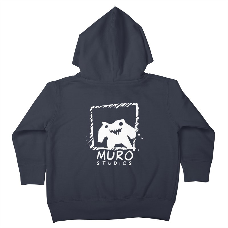 Muro Studios Logo Kids Toddler Zip-Up Hoody by Muro Studios Shop