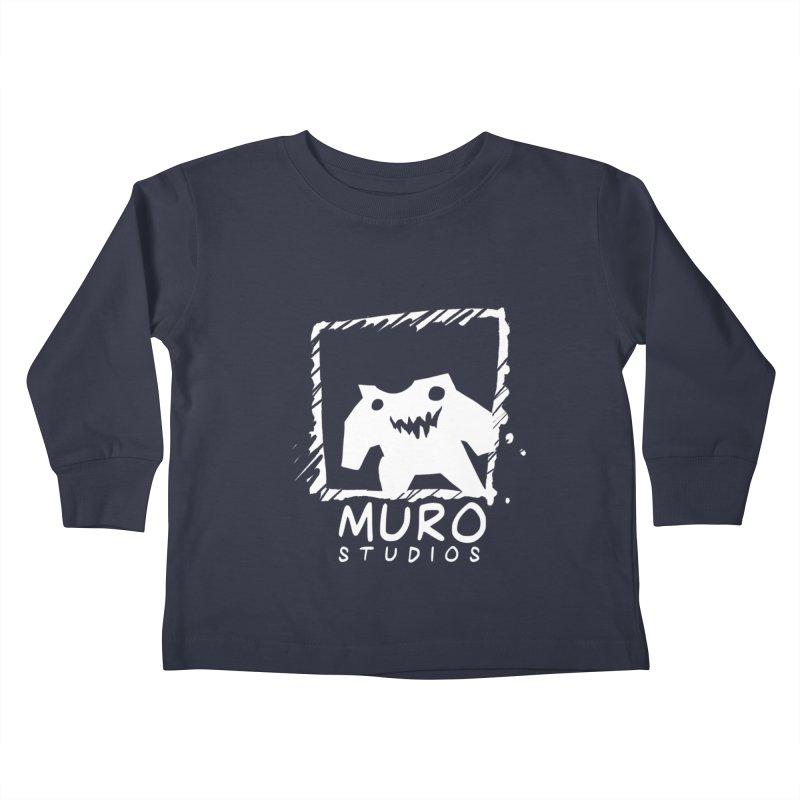 Muro Studios Logo Kids Toddler Longsleeve T-Shirt by Muro Studios Shop