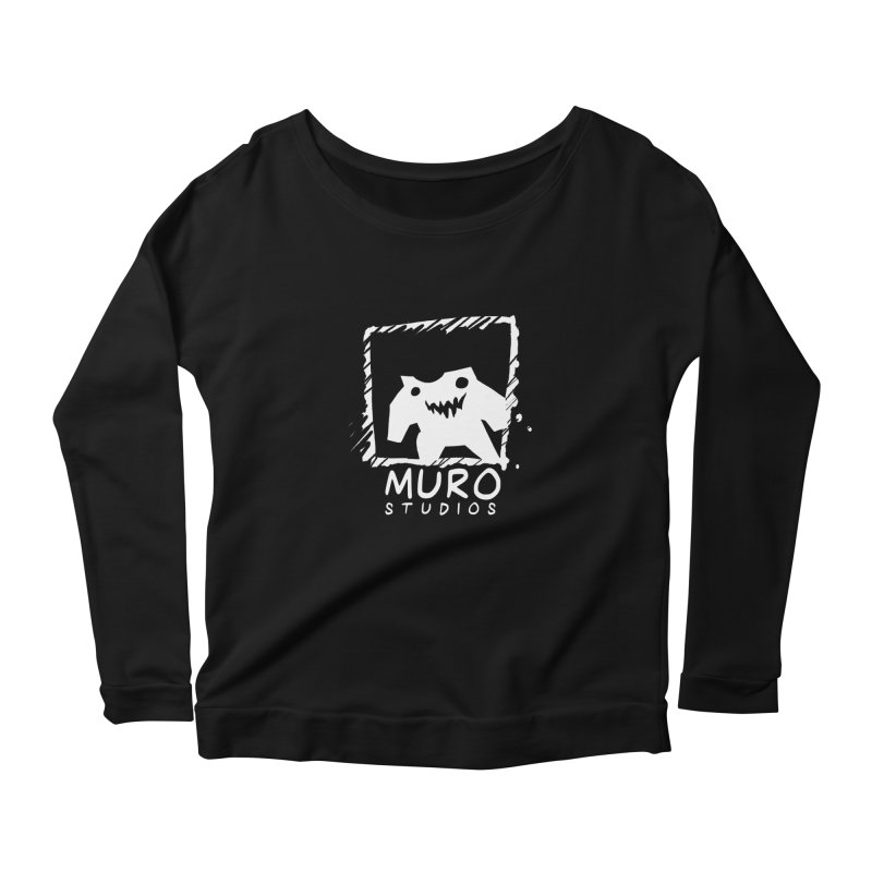 Muro Studios Logo Women's Scoop Neck Longsleeve T-Shirt by Muro Studios Shop