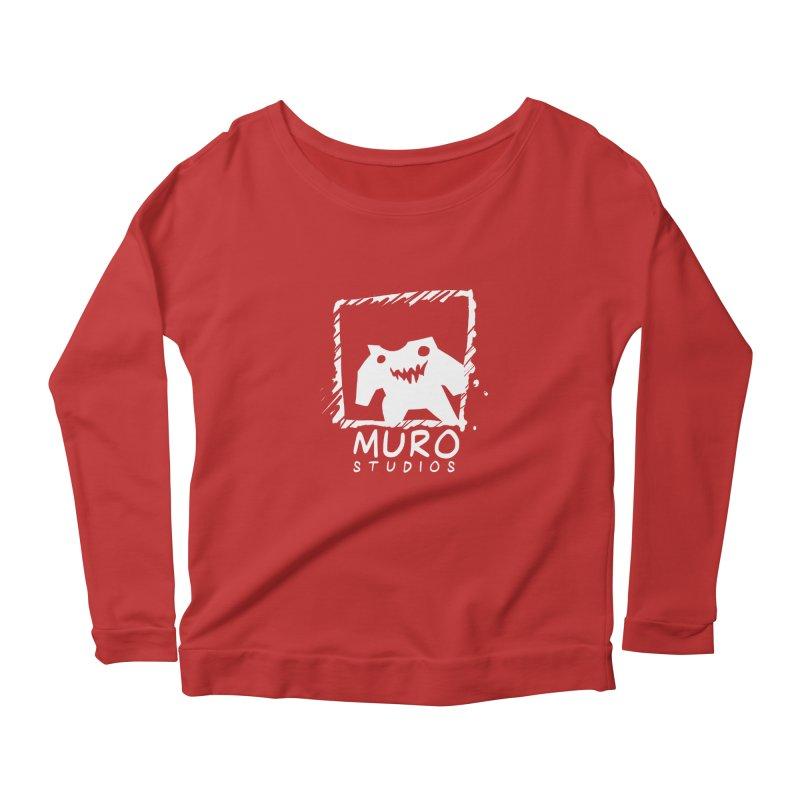 Muro Studios Logo Women's Scoop Neck Longsleeve T-Shirt by Muro Studios Shop