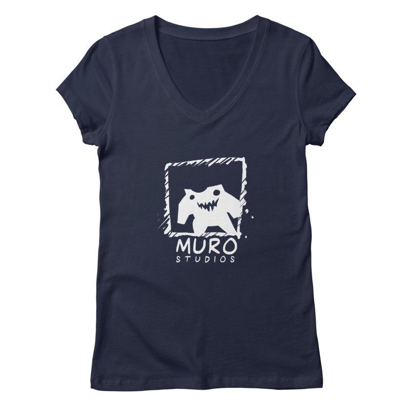 Muro Studios Logo Women's V-Neck by Muro Studios Shop