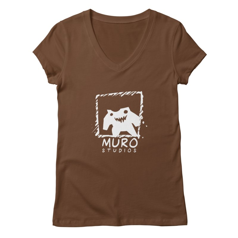 Muro Studios Logo Women's Regular V-Neck by Muro Studios Shop