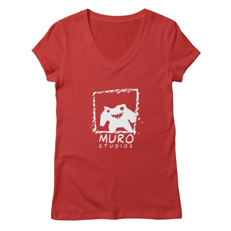 Muro Studios Logo Women's Regular V-Neck by Muro Studios Shop
