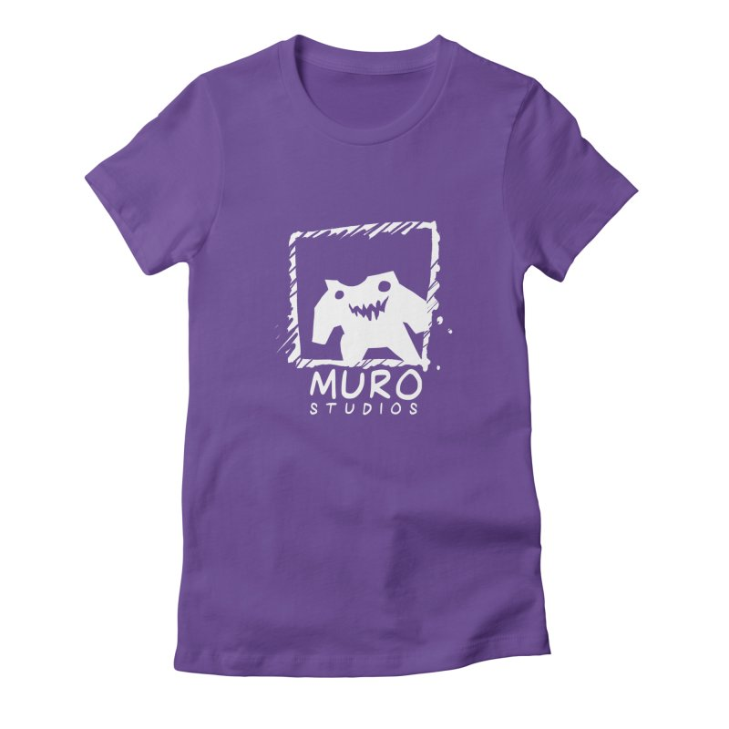 Muro Studios Logo Women's Fitted T-Shirt by Muro Studios Shop