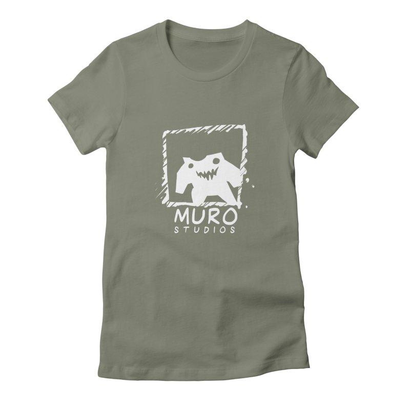 Muro Studios Logo Women's Fitted T-Shirt by Muro Studios Shop