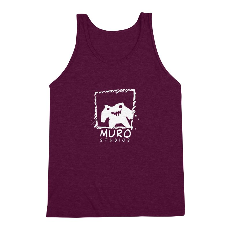 Muro Studios Logo Men's Triblend Tank by Muro Studios Shop