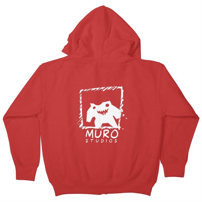 Muro Studios Logo Kids Zip-Up Hoody by Muro Studios Shop