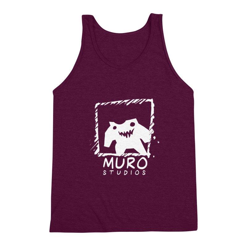 Muro Studios Logo Men's Triblend Tank by Muro Studios Shop
