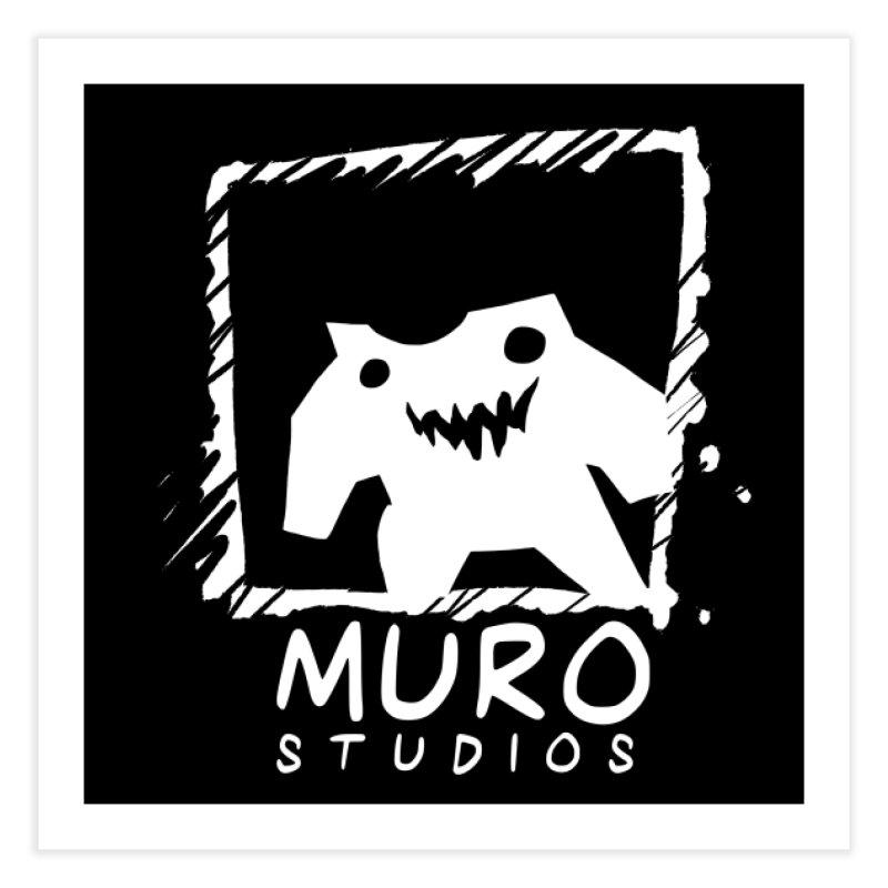 Muro Studios Logo Home Fine Art Print by Muro Studios Shop