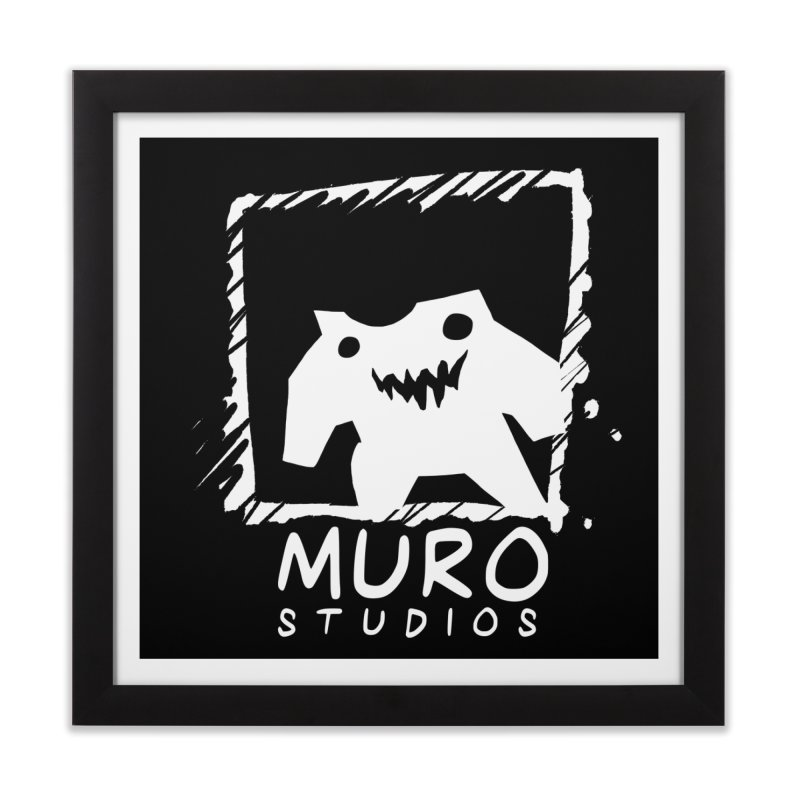 Muro Studios Logo Home Framed Fine Art Print by Muro Studios Shop
