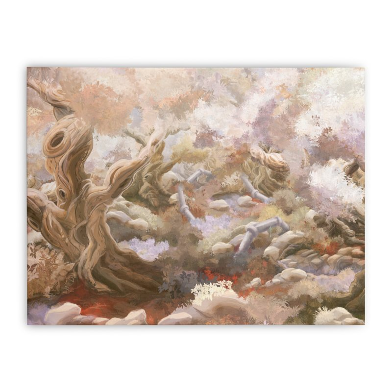 The Forest Home Stretched Canvas by Muro Studios Shop