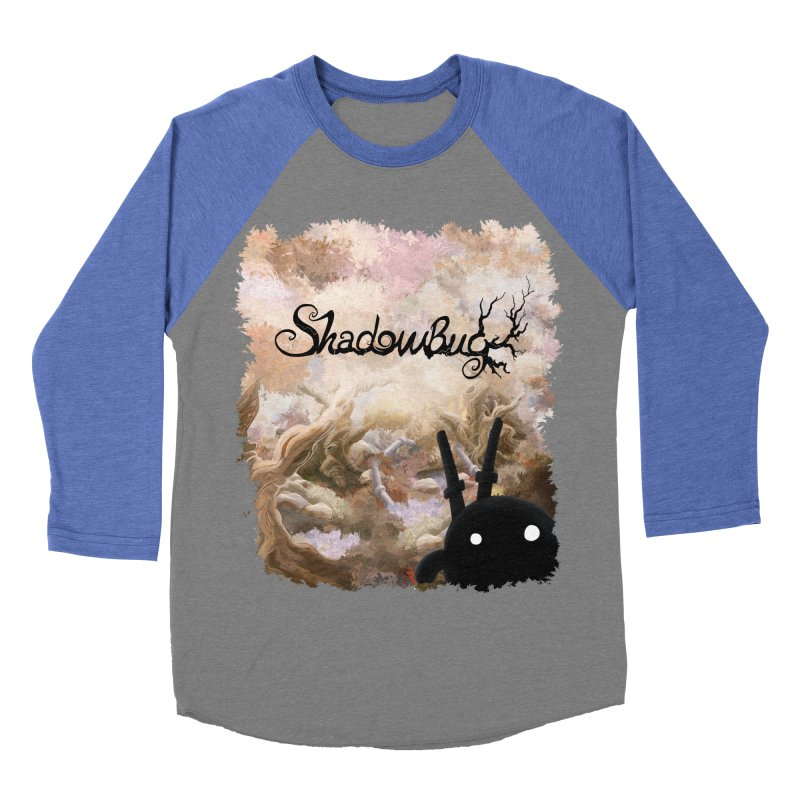 Shadow Bug Men's Baseball Triblend T-Shirt by Muro Studios Shop