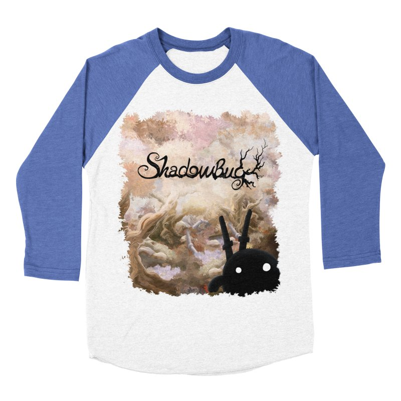 Shadow Bug Men's Baseball Triblend Longsleeve T-Shirt by Muro Studios Shop
