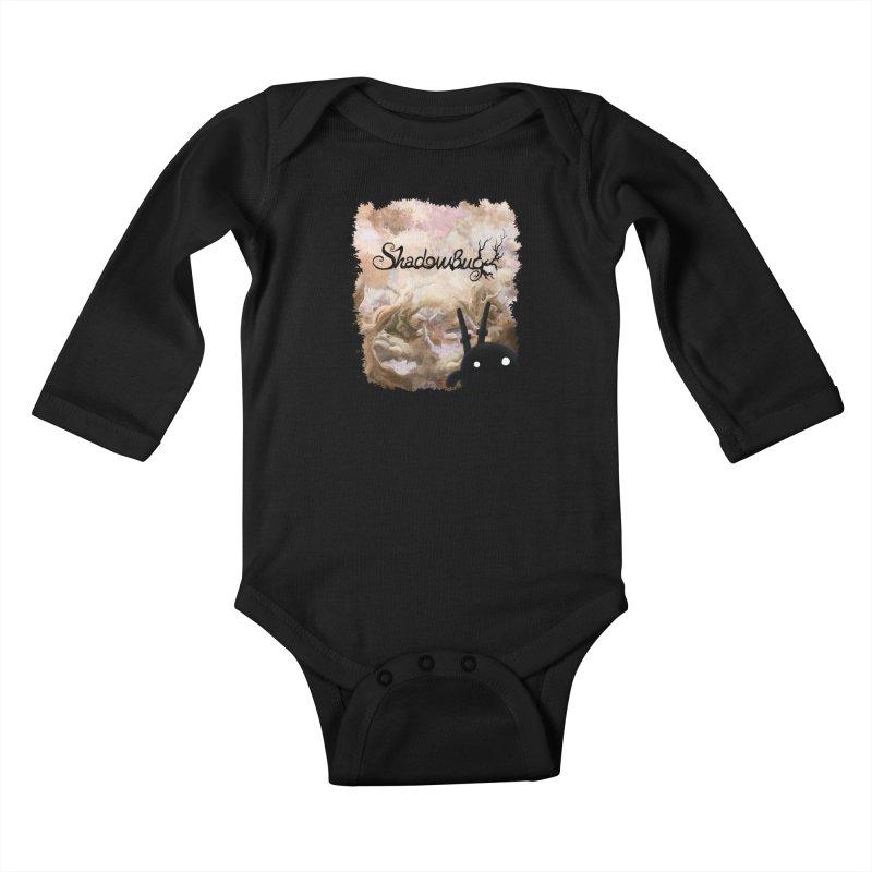 Shadow Bug Kids Baby Longsleeve Bodysuit by Muro Studios Shop