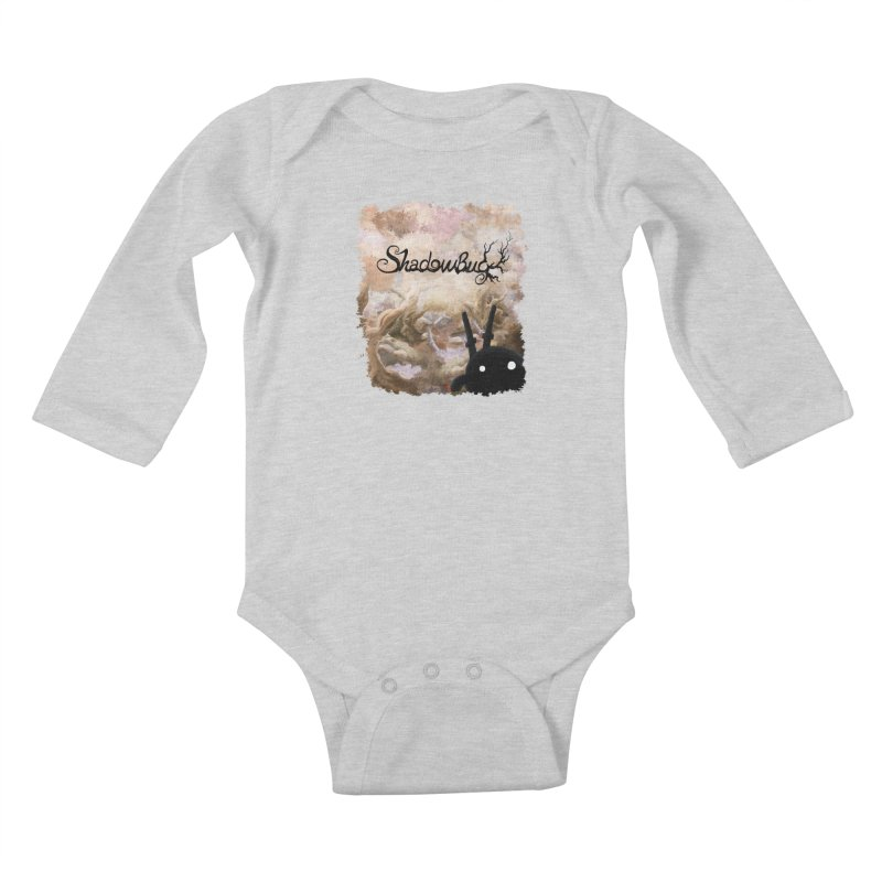 Shadow Bug Kids Baby Longsleeve Bodysuit by Muro Studios Shop