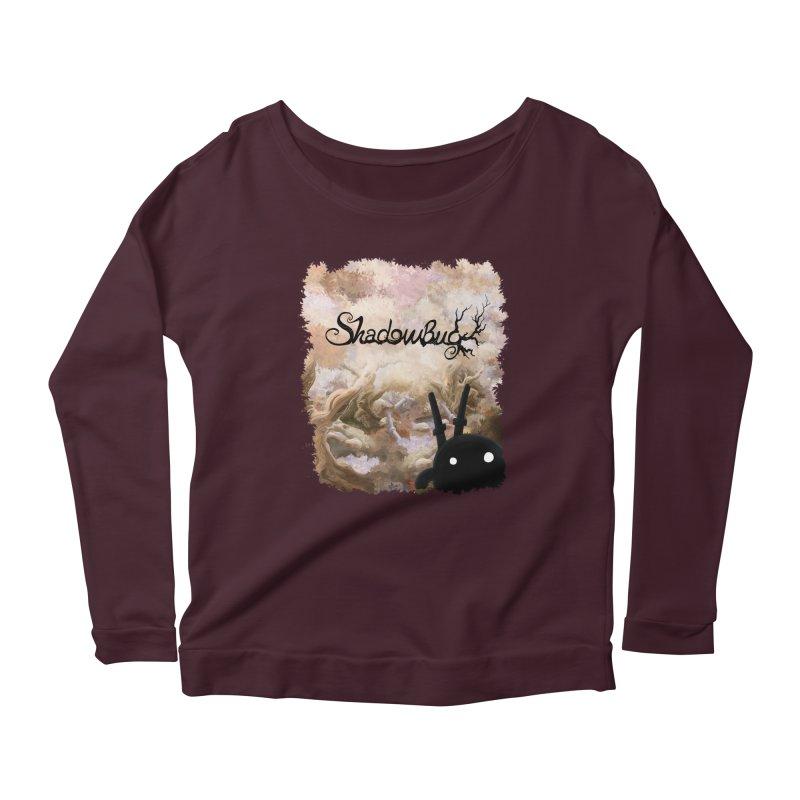Shadow Bug Women's Scoop Neck Longsleeve T-Shirt by Muro Studios Shop