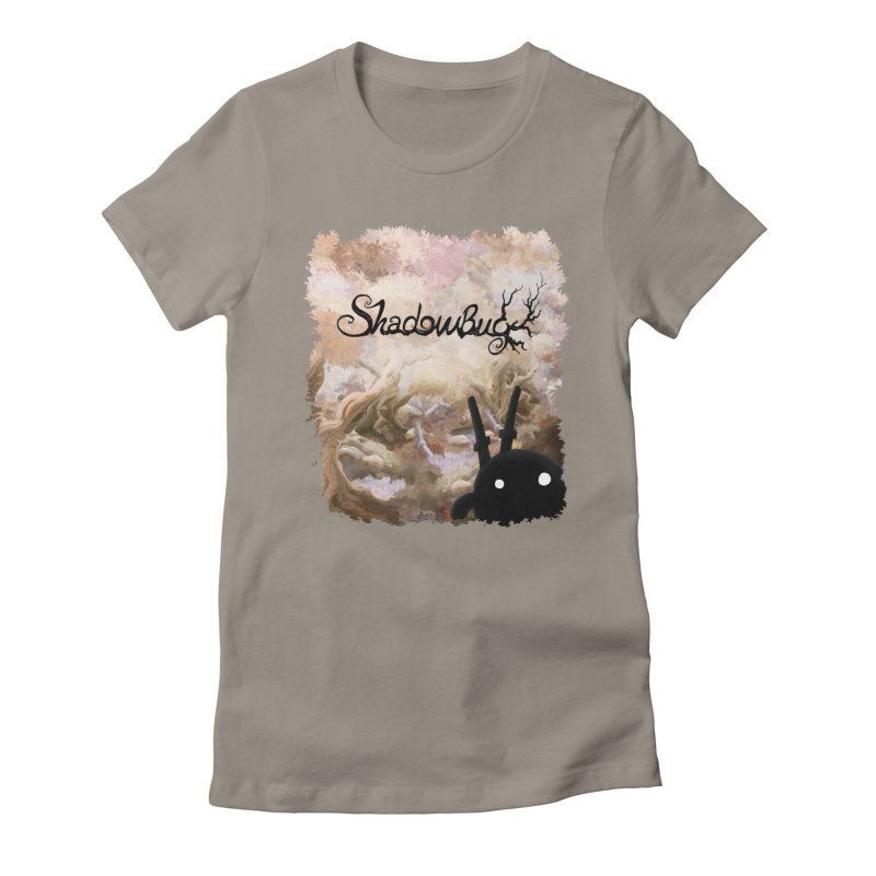Shadow Bug Women's Fitted T-Shirt by Muro Studios Shop